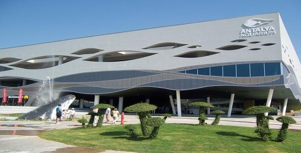 Antalya Aquarium Tünel Akvaryum