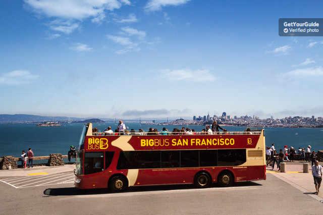 Alcatraz & San Francisco İndi-Bindi Tur Paketi
