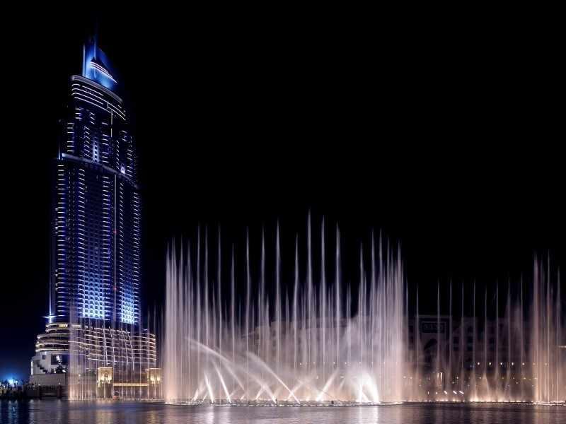 Burç Halife'de Akşam Yemeği Dahil Tam Gün Dubai Turu