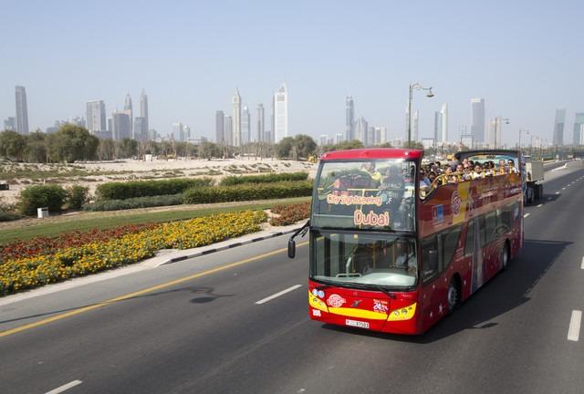 Dubai: 24 veya 48 Saat Biletle İndi-Bindi Otobüs Turu