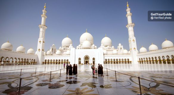 Dubai'den Tam Gün Abu Dabi Turu