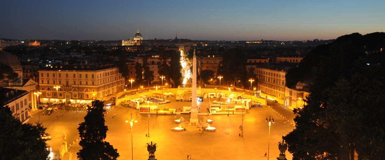 Gece Yürüyüş Turuyla Roma'nın Işıkları