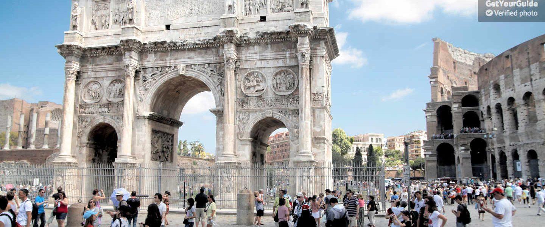 Hızlı Giriş: Kolezyum, Roma Forumu ve Antik Roma Turu