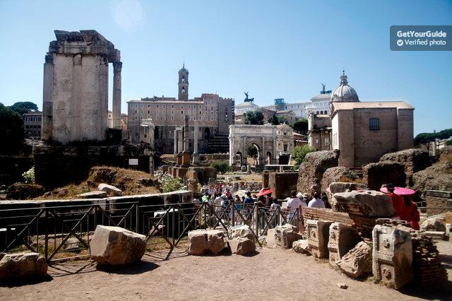 Hızlı Giriş: Kolezyum ve Antik Roma Yürüyüş Turu