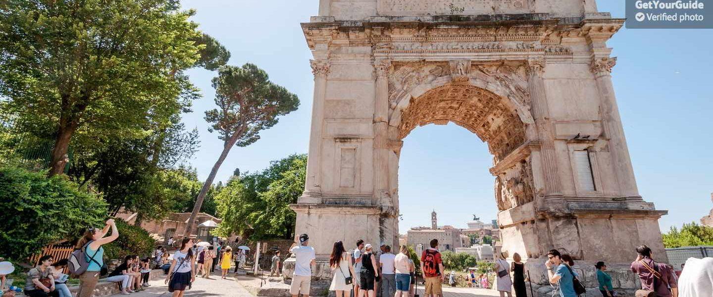 Hızlı Giriş: Kolezyum ve Roma Yürüyüş Turu