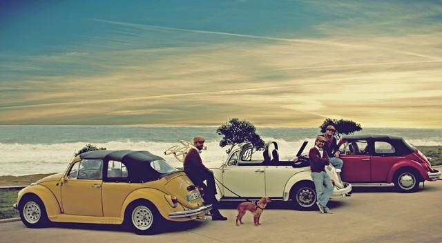 Lizbon: Antika Cabrio Vosvos ile Yarım Günlük Tur