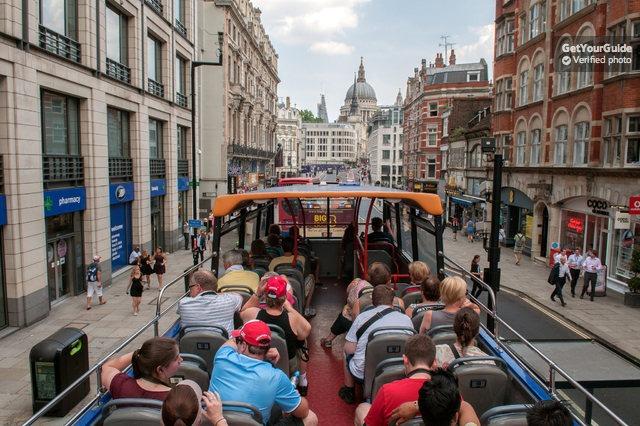 Londra İndi-Bindi Otobüs Turu: 24 veya 48 Saatlik Bilet