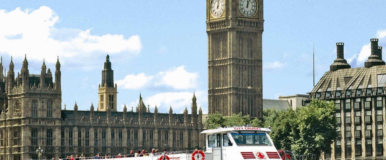 Londra: Thames Nehri'nde Öğleden Sonra Çayı Turu