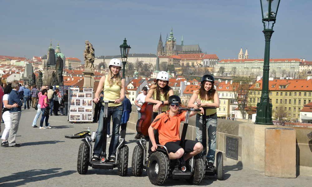 Prag: 1 Saatlik Özel Segway'li Şehir Manzarası Turu