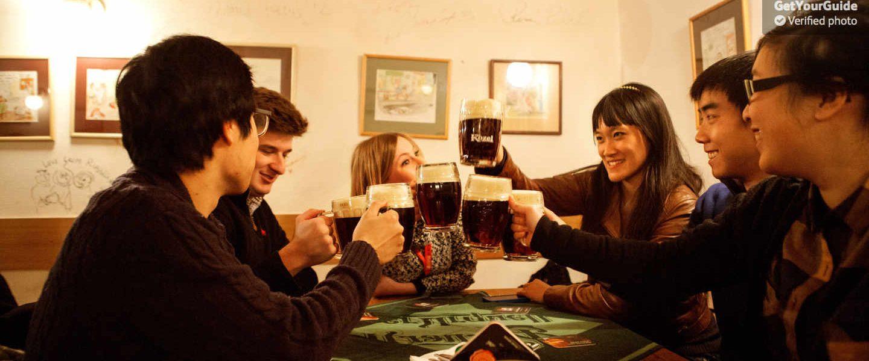 Prag'da Bira ve Barlar Turu
