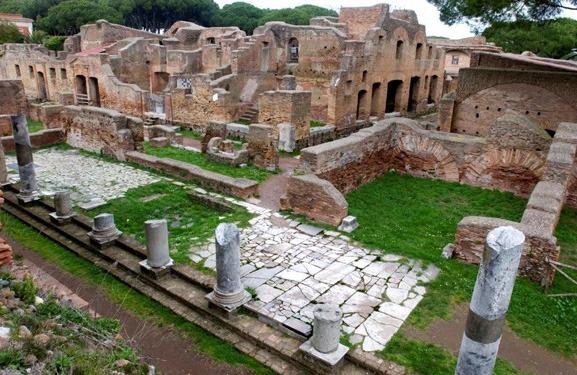 Roma'dan Tren ile Ostia Antica'ya Yarım Günlük Tur