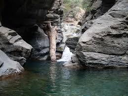 şahinderesi kanyonu