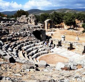 iasos antik kenti