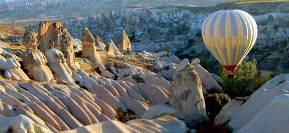 Kapadokya Sıcak Hava Balon Uçuş